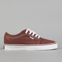 Flatspot - Vans Chukka Low Red / Washed Canvas