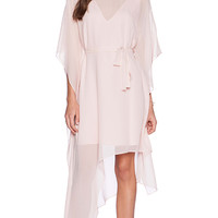 BCBGMAXAZRIA Suzy Dress in Peach