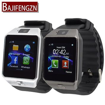 SIM/TF card Smart Watch for Android phone Bluetooth 3.0 Wristwatch Smartwatch Phone PK GT08 A1 Clock Support facebook whatsapp