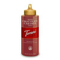 Torani Salted Chocolate Caramel Sauce (6x16.5 OZ)