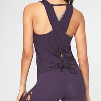Essence Tie Back Tank|athleta