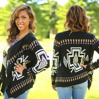 Southwestern Sunset Cardigan
