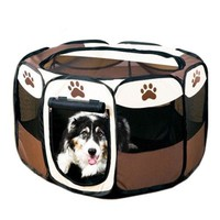 Outdoor tent waterproof pet dog fence Oxford pet toy dog cage pet house cat toy