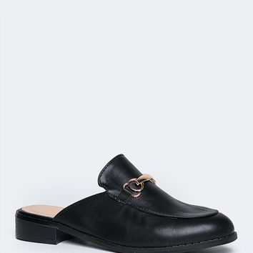 Slip On Buckle Loafer