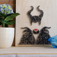 Maleficent Disney Wall Decoration