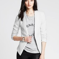 Banana Republic Womens Cutaway Soft Blazer
