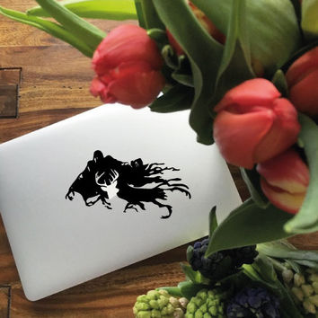 Harry Potter Dementor Macbook Decal Laptop Sticker Macbook Pro Air Vinyl Decal Macbook Sticker, stickers macbook pro, macbook pro decal