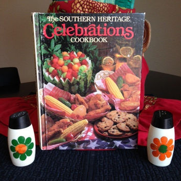 Southern Heritage Celebrations Cookbook- Vintage 1980's