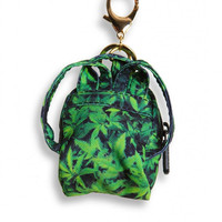 EXPLICIT GREENS MINI BACKPACK KEYCHAIN