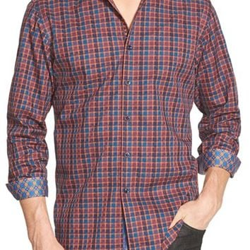 Men's Robert Graham 'Trotter' Classic Fit Woven Sport Shirt,