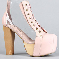 The Cleata Shoe in Nude Clear : Jeffrey Campbell : Karmaloop.com - Global Concrete Culture