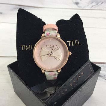Ted Baker TE15197005 Ladies Rose Gold Tone Watch