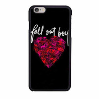 fall out boy band heart cover album iphone 6 6s 4 4s 5 5s 6 plus cases