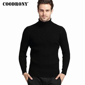 COODRONY Thick Warm  Cashmere Sweater