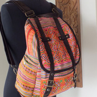 Hmong Ethnic handmade bag vintage by shopthailand on Etsy