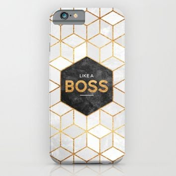 Like a boss iPhone & iPod Case by Elisabeth Fredriksson | Society6