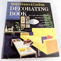 Mid Century Vintage Interior Decorating Book 1960s Better Homes And Gardens