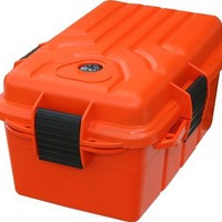 MTM Survivor Dry Box with O-Ring Seal (Orange, Large)