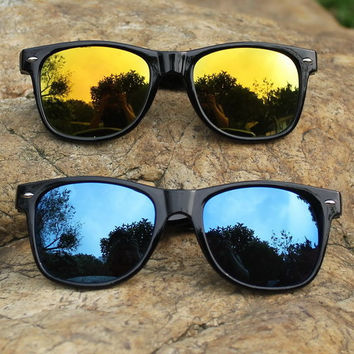 Cool Summer Style Sunglasses for Men and Women  (Multi Colors)