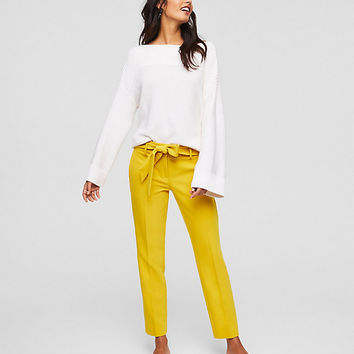 Slim Tie Waist Pants in Marisa Fit | LOFT