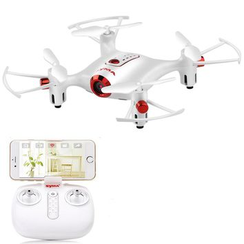 WiFi FPV with 0.3MP Camera High Hold Mode Waypoint 2.4G 4CH 6-aixs RC Drone