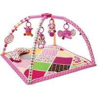 Infantino See Play Go Sweet Safari Twist & Fold Activity Gym & Play Mat - Walmart.com