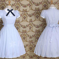 Super Lovely Light Blue Sweet Lolita Dress with Bowknot