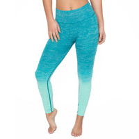 Resolution Ombré Yoga Leggings In Jade