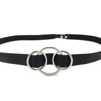 Wicca Brand The 3 Moons Waist Belt : Naked