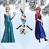 Frozen Sketchbook Ornament Set | Disney Store