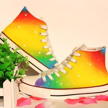 Gradient Strong Character Couple Shoes [10493681731]