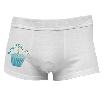 Birthday Boy - Candle Cupcake Side Printed Mens Trunk Underwear by TooLoud