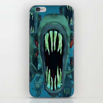 piranhas iPhone & iPod Skin by abeerhassan