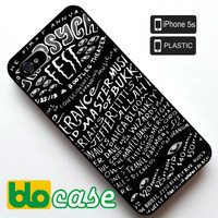 LA Psych Fest Iphone 5S Plastic Case