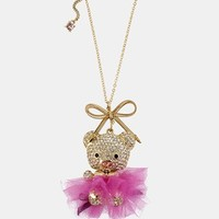 Betsey Johnson 'Terrific Tutus' Long Pendant Necklace | Nordstrom