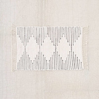Connected Stripe Rag Rug | Urban Outfitters
