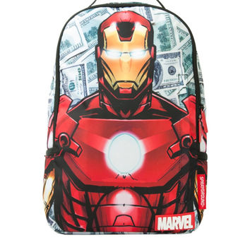 Marvel Iron Money Backpack