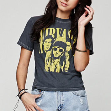 Retro Gold Vintage Nirvana T-Shirt at PacSun.com