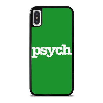 PSYCH iPhone X Case Cover