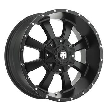 Trail Master - TM220, 17x9 with 5 on 5 and 5 on 4.5 Bolt Pattern - Satin Black | 4WheelParts.com