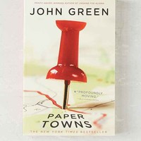 Paper Towns By John Green- Assorted One