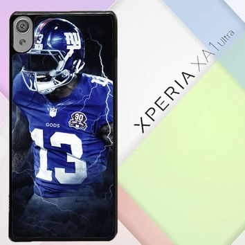 Odell Beckham Jr New York Giants X5642 Sony Xperia XA1 Ultra Case