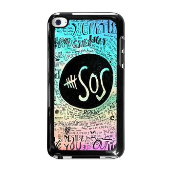 5 SECONDS OF SUMMER 3 5SOS iPod Touch 4 Case Cover