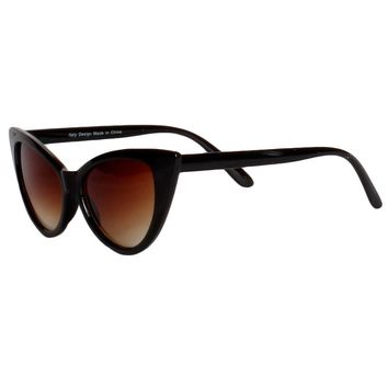Brown Ombre Cat Eye Sunglasses