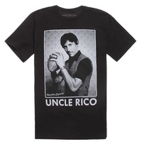 NEW WORLD Uncle Rico T-Shirt - Mens Tee - Black -