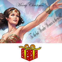 The Every Day Wonder Woman Bracelet Cuff... Superpower your way through your day... Gold with Bright Pink Star