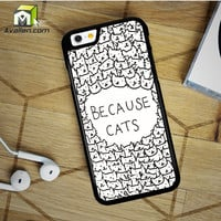 Because Cats iPhone 6 Plus Case by Avallen
