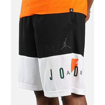 Jordan Fashion Men Women Loose Print Sport Casual Basketball Shorts I-XMCP-YC