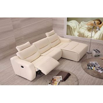 Luxury Sofas for living room leather corner sofa Recliner leather sofa set with genuine leather