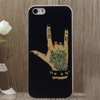 Rock and Roll iPhone 5/5S/6/6S/6 Plus/6S Plus creative case Gift Very Light creative case-27